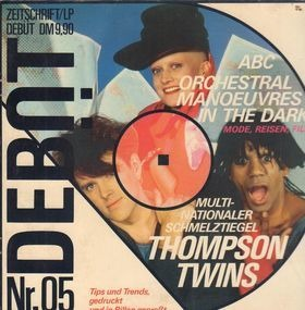 Billy Idol - Debüt LP / Zeitschrift Ausgabe 5