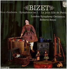 Georges Bizet - Jeux denfants, Symph no.1, La jolie fille de Perth,, LSO, Benzi