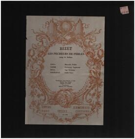 Georges Bizet - Les Pecheurs DE Perles
