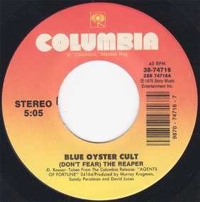 Blue Öyster Cult - (Don't Fear) The Reaper / Burnin' For You