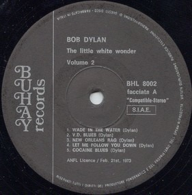 Bob Dylan - The Little White Wonder - Volume 2