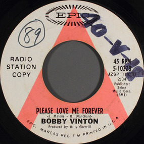 Bobby Vinton - Please Love Me Forever