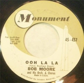 Bob Moore - Ooh La La / Auf Widersehen Marlene