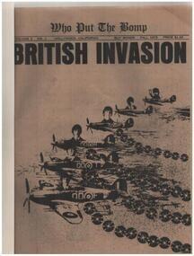 Bomp - Who Put The Bomp - British Invasion Vol. 3  No.1