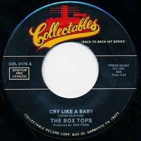 The Box Tops - Cry Like A Baby / Soul Deep