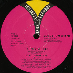boys from brazil - Hot Stuff