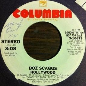 Boz Scaggs - Hollywood
