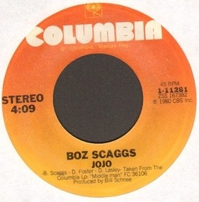 Boz Scaggs - jojo / do like you do in new york