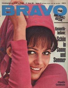 Bravo - 24/1965 - Claudia Cardinale