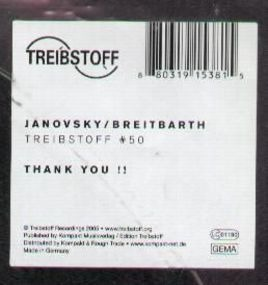 Breitbarth, Janovsky - 50