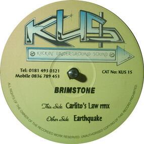 Brimstone - Carlito's Law (Remix) / Earthquake