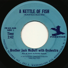 Jack McDuff - A Kettle Of Fish / Carry Me Home