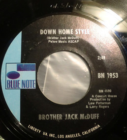 Jack McDuff - Down Home Style / Theme From Electric Surfboard