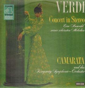 Giuseppe Verdi - Verdi Concert In Stereo: Eine Auswahl Seiner Schönsten Melodien