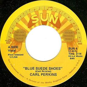 Carl Perkins - Blue Suede Shoes / Honey, Don't!