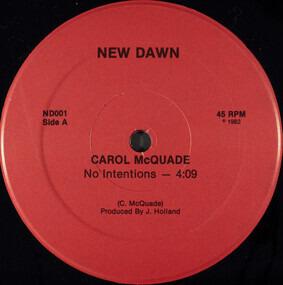Carol McQuade - No Intentions