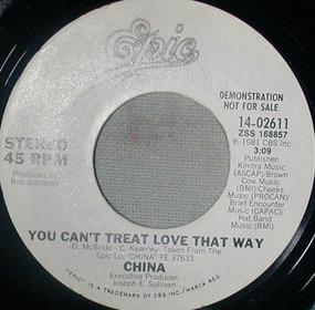 China - You Can't Treat Love That Way