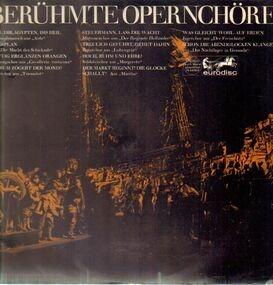 Richard Wagner - Berühmte Opernchöre