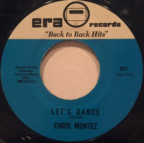 Chris Montez - Let's Dance / All You Had To Do Was Tell Me