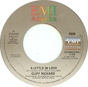 Cliff Richard - A Little In Love / Everyman
