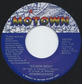 The Commodores - Reach High / Sexy Lady