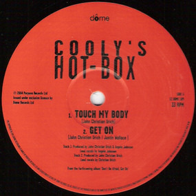 COOLY'S HOTBOX - Touch My Body