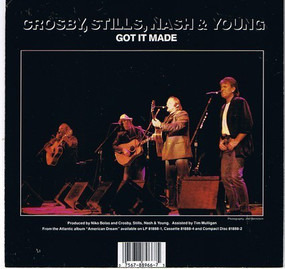 Crosby, Stills, Nash & Young - This Old House / Got It Made
