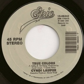 Cyndi Lauper - True Colors / What's Going On
