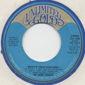 Danny Pearson - What's Your Sign Girl?