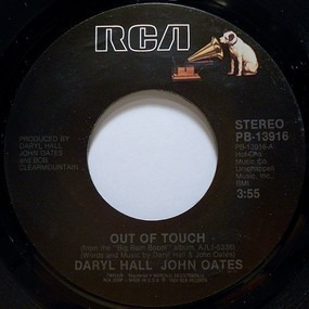 Daryl Hall & John Oates - Out Of Touch / Cold, Dark And Yesterday