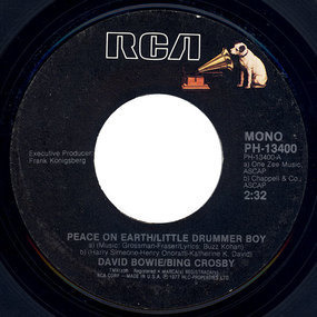 David Bowie - Peace On Earth / Little Drummer Boy