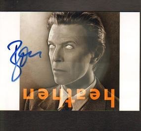 David Bowie - David Bowie Signed Photo