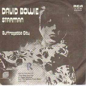 David Bowie - Starman / Suffragette City