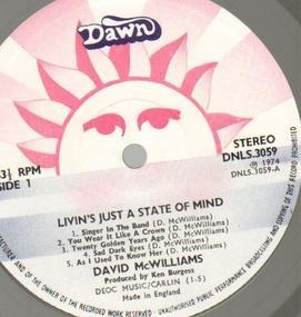 David McWilliams - Livin's Just A State Of Mind