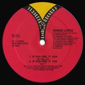 Denise Lopez - If You Feel It