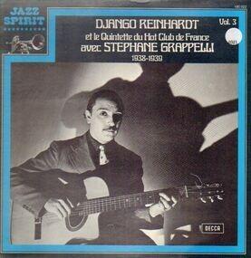 Django Reinhardt Et Le Quintette Du Hot Club De F - 1938-1939 Vol. 3