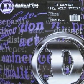DJ Supreme - Tha Wildstyle