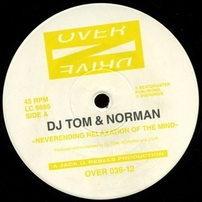 DJ Tom - Neverending Relaxation Of The Mind / Tales Of Mystery