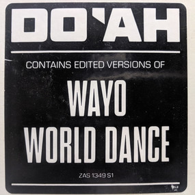 D.O.A. - World Dance / Wayo