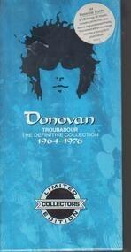 Donovan - Troubadour (The Definitive Collection 1964-1976)