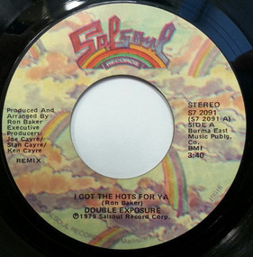 Double Exposure - I Got The Hots For Ya (Remix) / Perfect Lover