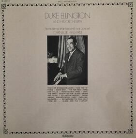 Duke Ellington - Carnegie Hall 1943 (His Most Important Second War Concert)