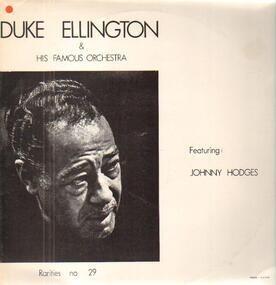 Duke Ellington - Featuring Johnny Hodges