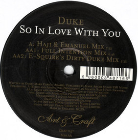 D.U.K.E. - So In Love With You
