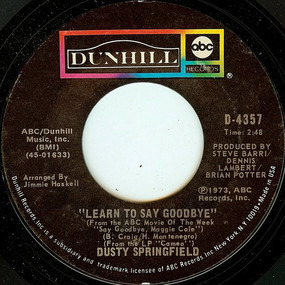 Dusty Springfield - Learn To Say Goodbye