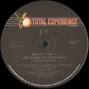 E.T. - Magic In The Air (All Around You Everywhere)
