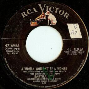 Eartha Kitt - A Woman Wouldn't Be A Woman