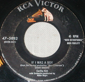 Eartha Kitt - If I Was A Boy