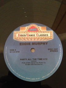 Eddie Murphy - Party All The Time / Let's Hear It For The Boy