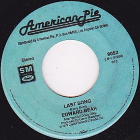 Edward Bear - Last Song / Ebony Eyes